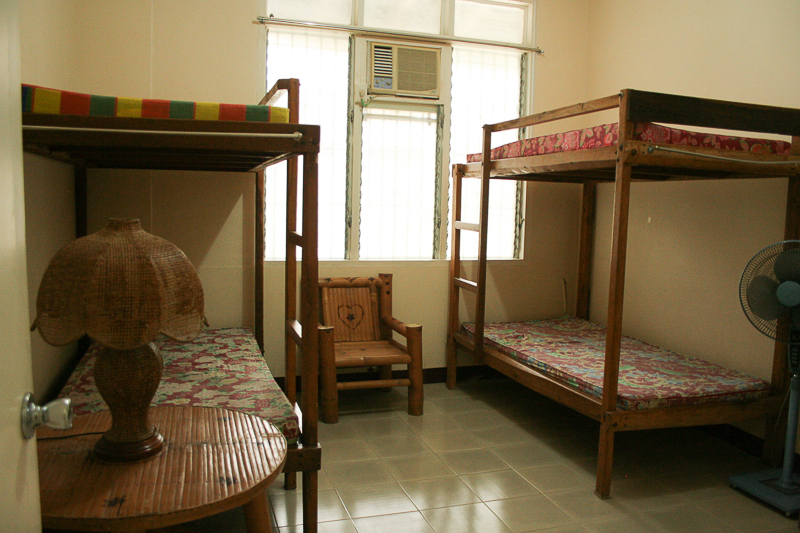 Bedroom 1 with 2 bunk beds